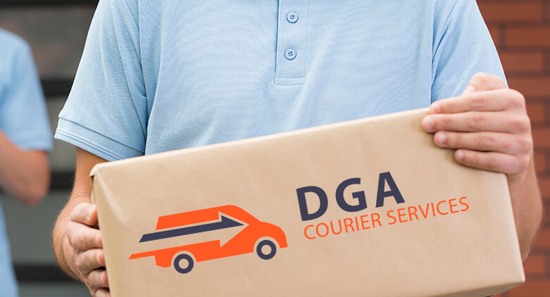 Courier Delivery - color image
